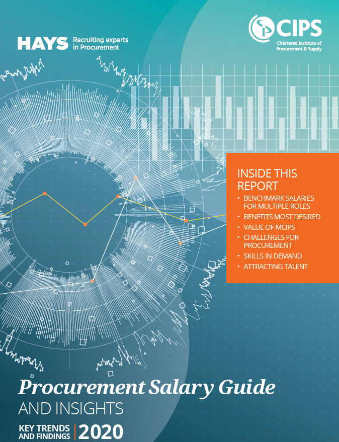CIPS/Hays Procurement Salary Guide and Insights 2020